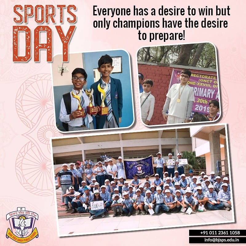 Bhai Joga Singh Public School organized the Sports day